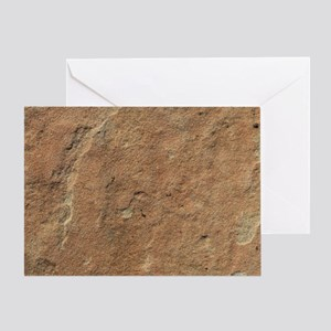 SANDSTONE Greeting Card