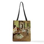 Degas Dance Class Polyester Tote Bag