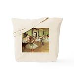 Degas Dance Class Tote Bag