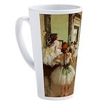 Degas Dance Class 17 oz Latte Mug