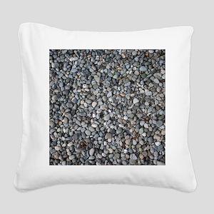 PEBBLE BEACH Square Canvas Pillow