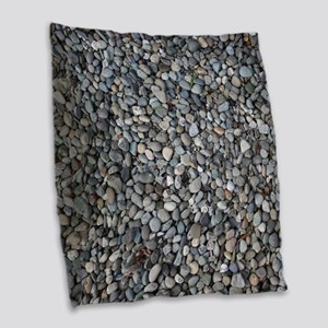 PEBBLE BEACH Burlap Throw Pillow