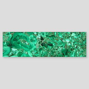 MARBLE GREEN Sticker (Bumper)