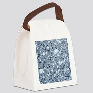MARBLE LIGHT GREY Canvas Lunch Bag