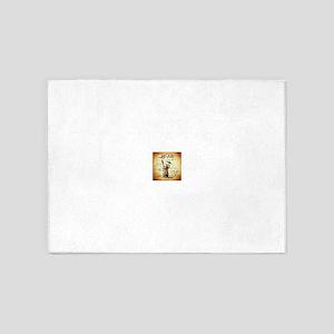 Mai Tai (Brown) 5'x7'Area Rug