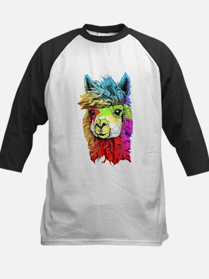 Color Me Alpaca Baseball Jersey