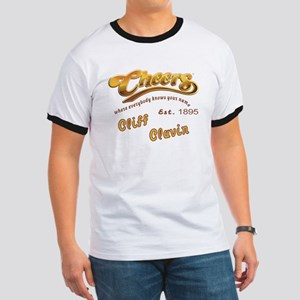 Cliff Clavin and Cheers Logo T-Shirt