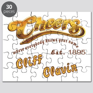 Cliff Clavin and Cheers Logo Puzzle