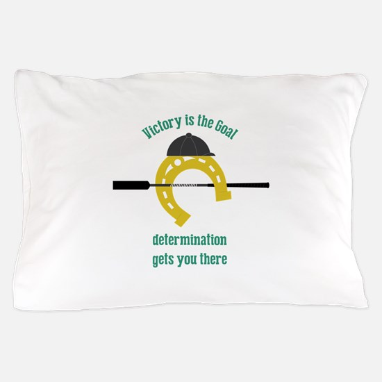 Victory Is Goal Pillow Case