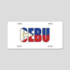 Cebu Aluminum License Plate