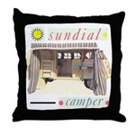 Sundial Throw Pillow