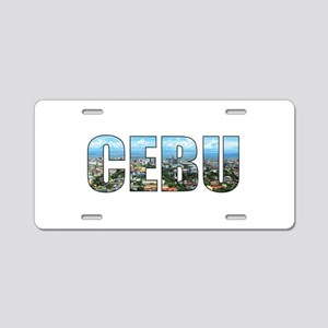 Cebu Aluminum License Plate