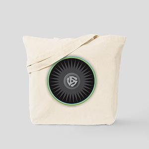 45 RPM Record Tote Bag