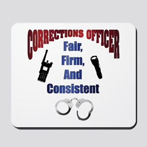 Corrections Officer 3 Mousepad