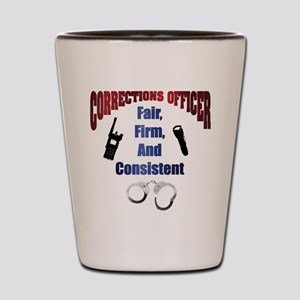Corrections Officer 3 Shot Glass