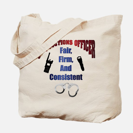 Corrections Officer 3 Tote Bag