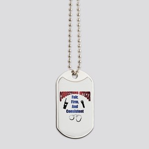 Corrections Officer 3 Dog Tags