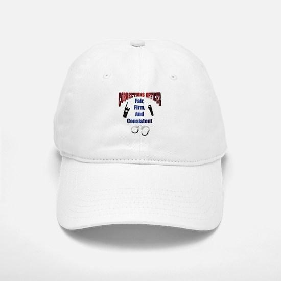 Corrections Officer 3 Baseball Baseball Cap