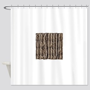 The Stone With Seven Eyes Shower Curtain