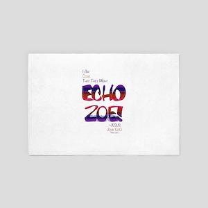 Echo Zoe by Tasha Dillon 4' x 6' Rug