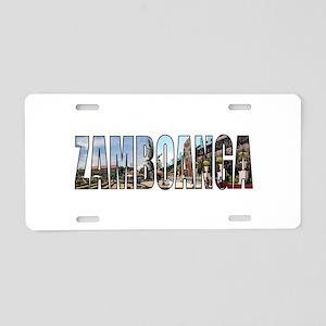 Zamboanga Aluminum License Plate