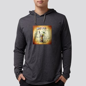 Mai Tai (Brown) Long Sleeve T-Shirt