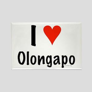 I love Olongapo Rectangle Magnet