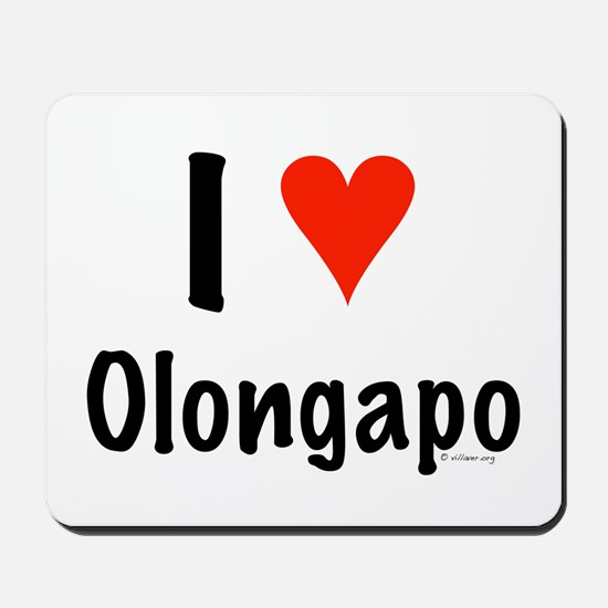 I love Olongapo Mousepad