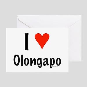 I love Olongapo Greeting Card