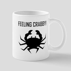FEELING CRABBY Mugs