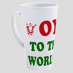 oytoworld1 17 oz Latte Mug