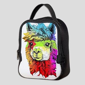Color Me Alpaca Neoprene Lunch Bag