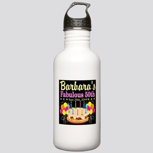 FABULOUS 50TH Stainless Water Bottle 1.0L