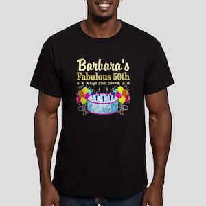 FABULOUS 50TH Men's Fitted T-Shirt (dark)