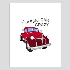 Classic Car Crazy Posters