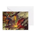 Fall in Leaf Greeting Card