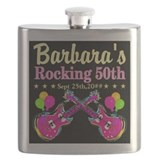 50th birthday Flask Bottles
