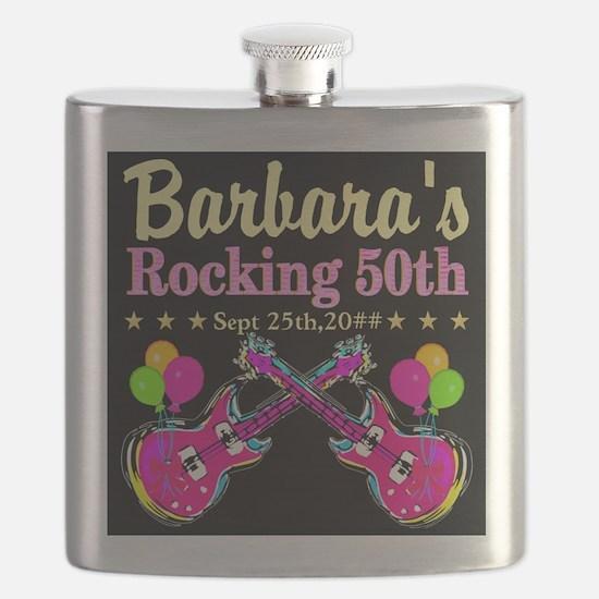 FABULOUS 50TH Flask