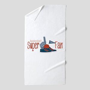 Basketball Fan Beach Towel
