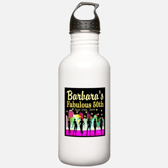 FABULOUS 50TH Water Bottle