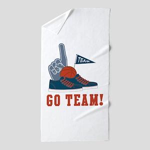 Go Team Beach Towel