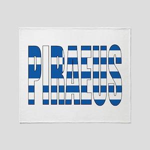 Piraeus Throw Blanket