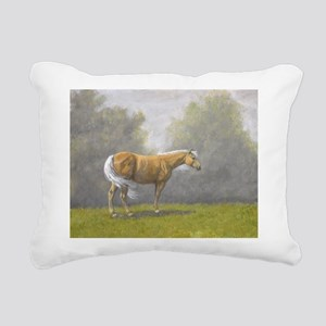 Palomino. Rectangular Canvas Pillow