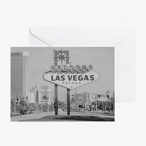 Retro Las Vegas Strip Cards (Pk of 10)