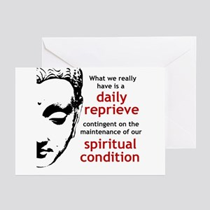 Spiritual Condition Greeting Cards