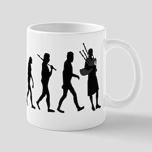 Bagpiper Evolution Mugs
