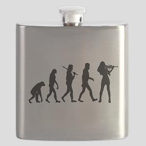 Violinist Evolution Flask