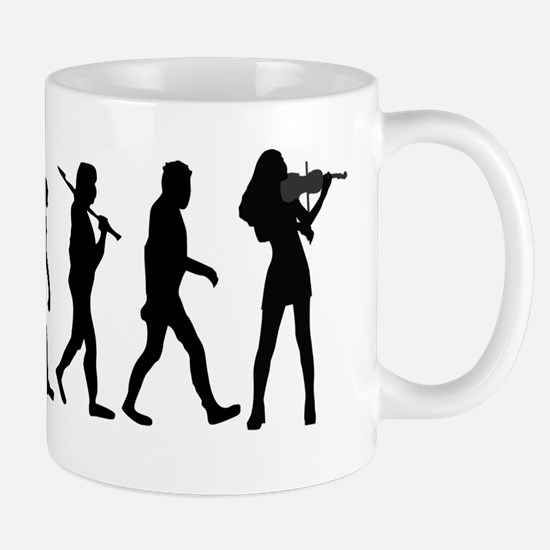 Violinist Evolution Mugs