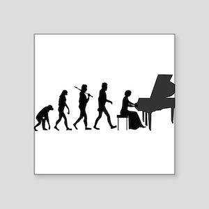 Piano Player Evolution Sticker