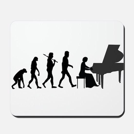 Piano Player Evolution Mousepad